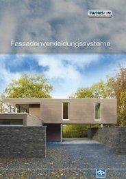 Info-Broschüre Fassade - Inoutic