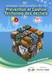 12EVDECHETS – Mise à jour 30/01/2012 - Ea éco-entreprises