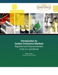 Introduction to Carbon Emissions Markets - the Family Office ...