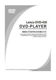 Lenco DVD-430 - fahrschule goenna