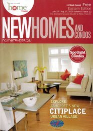 Article From New Home And Condos - Soho Parkway