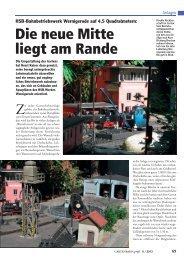 Die neue Mitte liegt am Rande - Horsts Gartenbahn Hamm