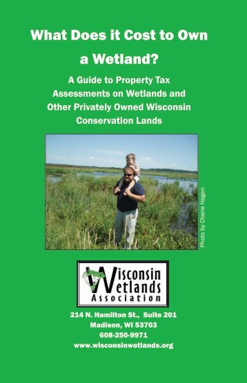 What Does it Cost to Own a Wetland? - Wisconsin Wetlands ...