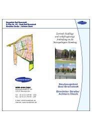 Baugebiet Bad Bramstedt B-Plan Nr. 49 Plan Nr. 49 Plan Nr. 49 ...