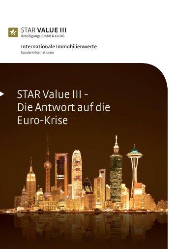 STAR Value III - Die Antwort auf die Euro-Krise