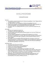 Schulprogramm 2011 2 - Gisa-Feuerberg-Schule