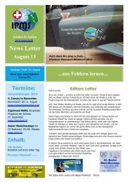 Newsletter August 2013 - Ipms-sg.ch