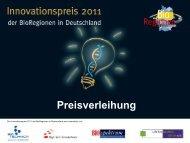 Preisverleihung - Deutsche Biotechnologie-Tage 2011