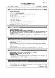 Sicherheitsdatenblatt [PDF - 33 KB]