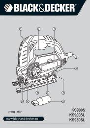 KS900S KS900SL KS950SL - Service - Black & Decker