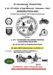 AUSSCHREIBUNG 2012_D - International Windmill Rally