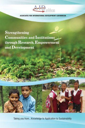 Download AIDInc Brochure - Associates for International Development