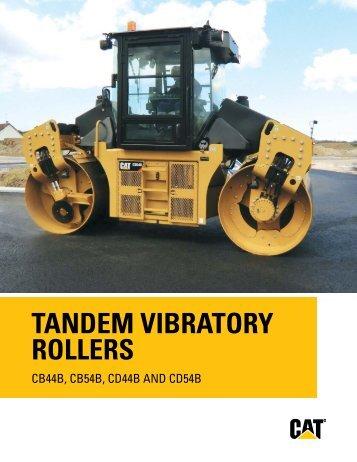 TANDEM VIBRATORY ROLLERS