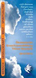 Mensch Gesellschaft Welt spiritu alitä t - Evangelische und ...