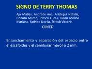 SIGNO DE TERRY THOMAS - Congreso SORDIC