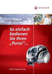 Anleitungsbuch 1-28 Purus mit SMC Adr. neu.qxd - Singer