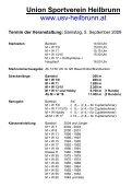 Flyer Heilbrunner Almenland Waldlauf 2009 - USV Heilbrunn - Seite 2