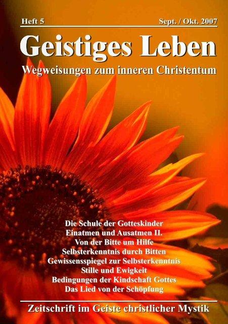 GL 5/2007 - der Lorber-Gesellschaft eV