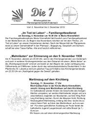 Mitteilungsblatt der Pfarreiengemeinschaft Andernach