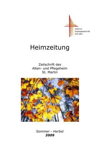 Heimzeitung - Alten- und Pflegeheim St. Martin Ochtendung