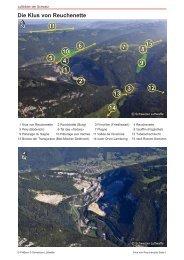 Die Klus von Reuchenette - Luftbilder der Schweiz