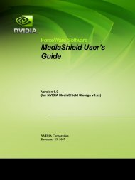 MediaShield User's Guide - Nvidia's Download site!!