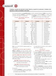 Scheda 21: I numerali - Loescher Editore