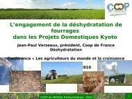 La rémunération de l'agriculture par les marchés ... - Fondation FARM