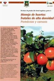 Técnicas de producción frutal orgánica: Parte 2