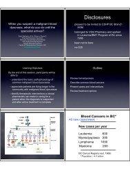 Disclosures - Pharmaceutical Sciences