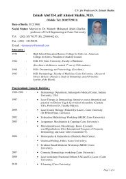 Zeinab Abd El-Latif Ahmed Shahin, M.D. - Kasr Al Ainy School of ...