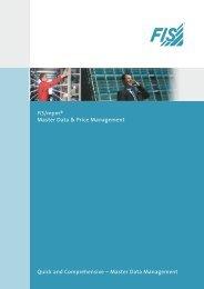 FIS/mpm® Master Data & Price Management Quick ... - Wincor Nixdorf