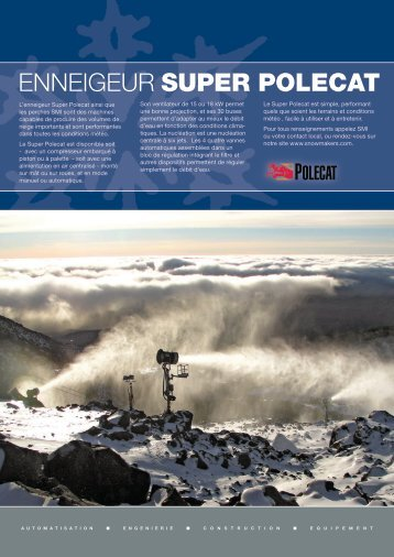 Super PoleCats - Snow Machines, Inc.