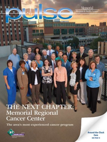 THE NEXT CHAPTER: - Memorial Health System