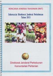 Direktorat Jenderal Perkebunan Kementerian Pertanian