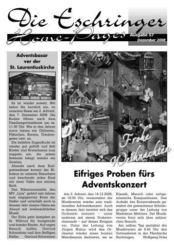 Dezember - Eschringen
