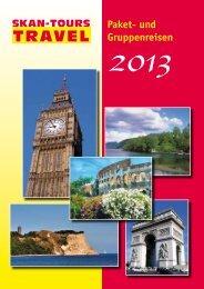 Travel_Katalog_2013_komplett - Skan Tours Touristik International ...