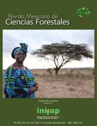 Vol. 2 Núm. 8 - Instituto Nacional de Investigaciones Forestales ...