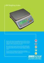 LBK Weighing Scales - Adam Equipment