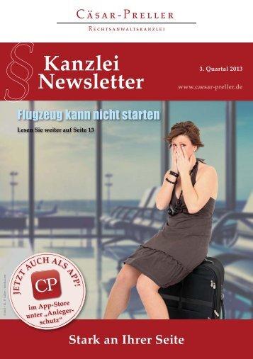 Kanzlei Newsletter - Rechtsanwalt Teneriffa