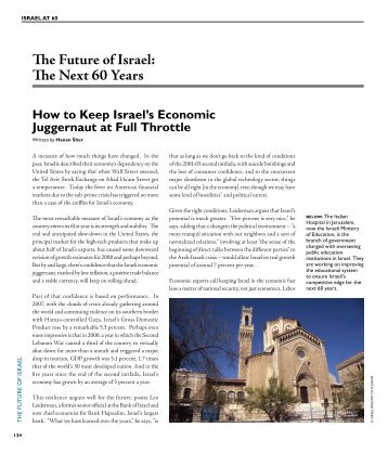 The Future of Israel - Israel Ministry of Foreign Affairs