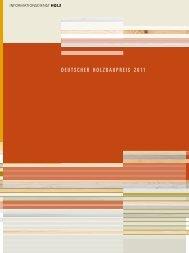 DEUTSCHER HOLZBAUPREIS 2011