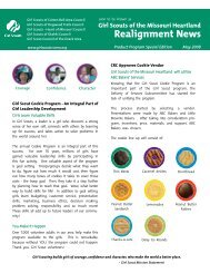 Realignment Product Sales Newsletter 3.qxp - Girl Scouts of the ...