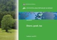 Drevo, gozd, les - Statistični urad Republike Slovenije