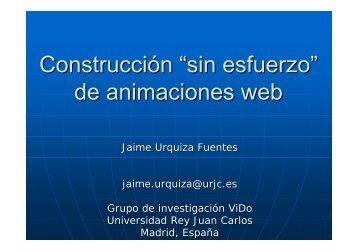 de animaciones web - LITE - Universidad Rey Juan Carlos