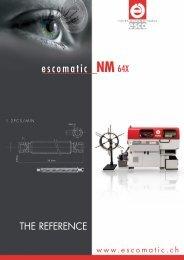 Download NM 64X brochure (PDF) - Escomatic
