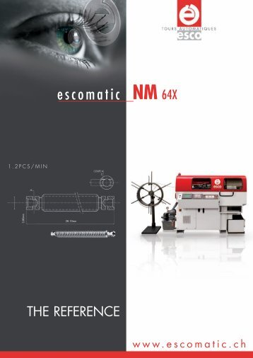 Download NM 64X brochure (PDF) - Escomatic