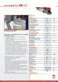 Download NM 64X brochure (PDF) - Escomatic - Page 4