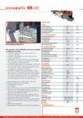 Download NM 64X brochure (PDF) - Escomatic - Page 4