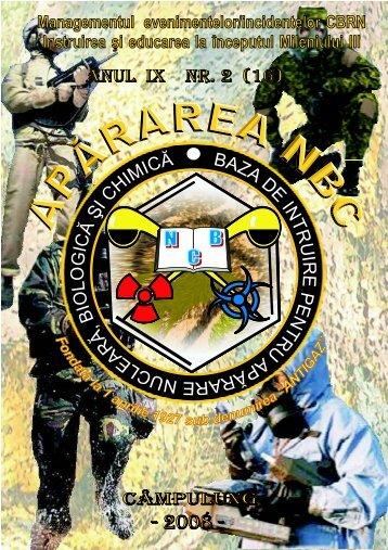 Colonel (r) - baza de instruire pentru apărare cbrn